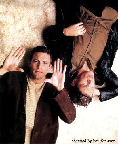Ben Affleck 壁纸 called Ben & Matt Damon