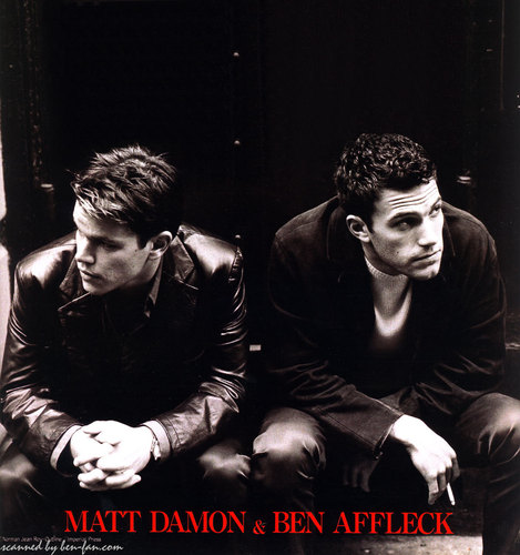 Ben Affleck 壁纸 entitled Ben & Matt Damon