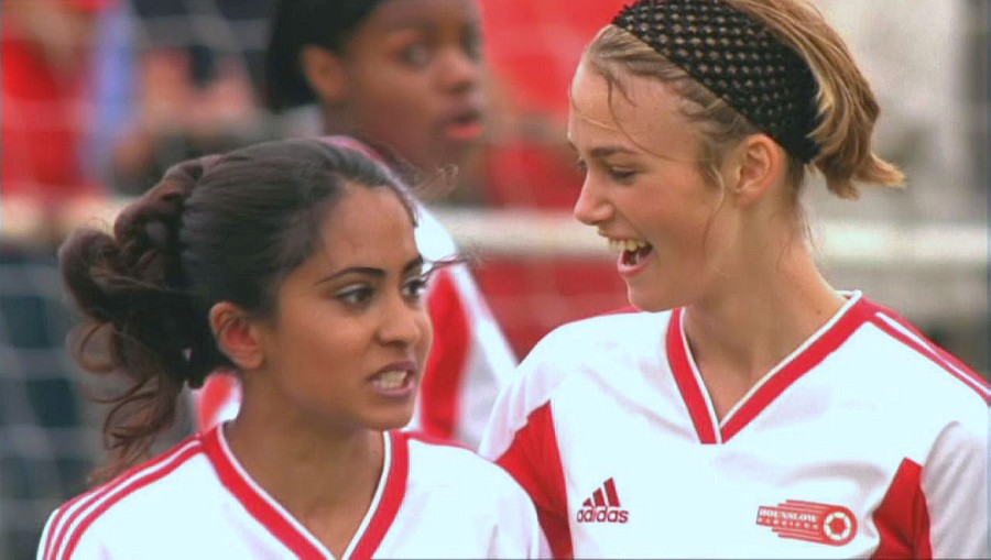 bend it like beckham Watch movies online free stream: bend it like beckham (2002) the daughter of orthodox sikh rebels against her parents' traditionalism by running off to germany with a football team (soccer.