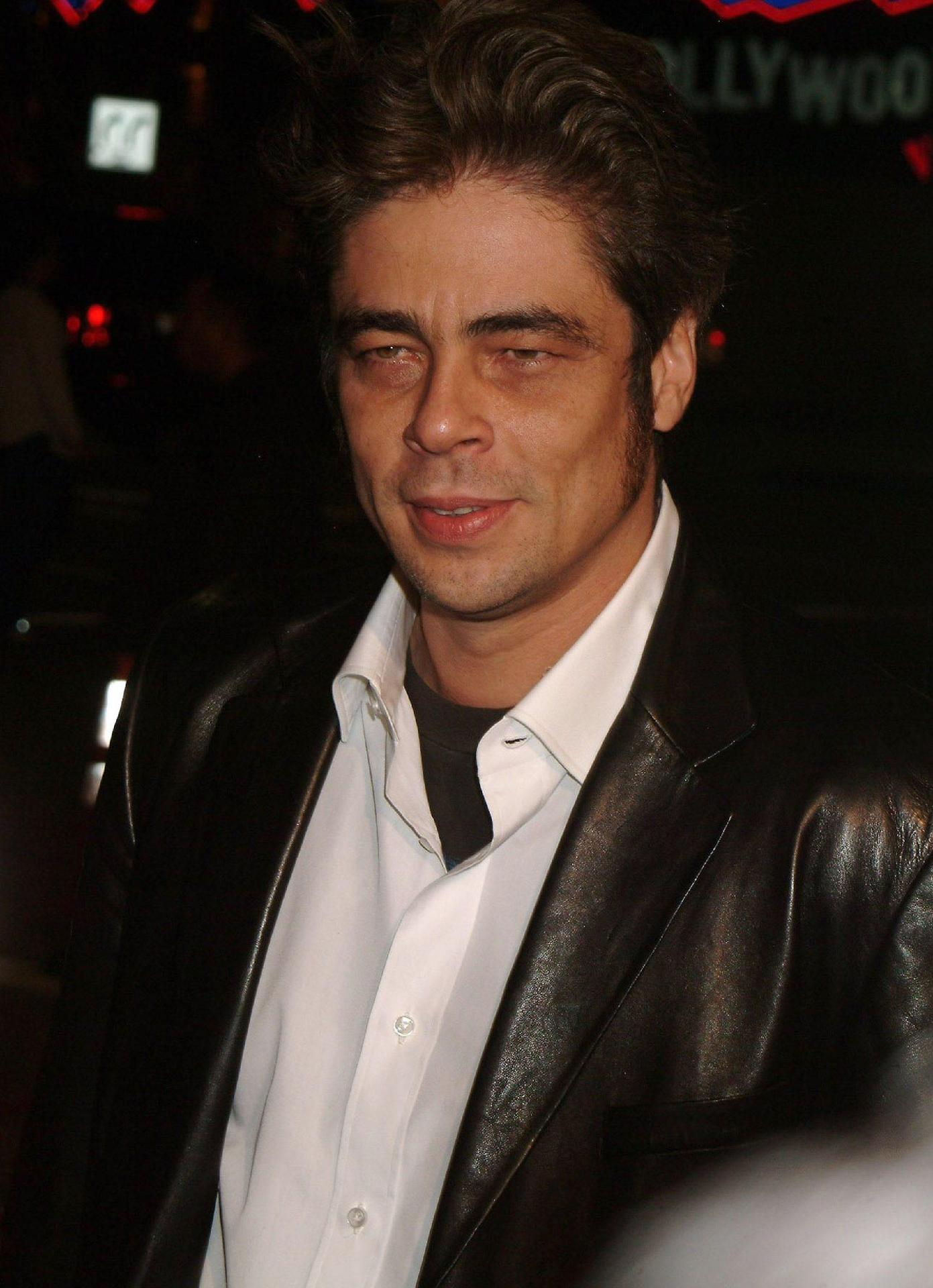 Benicio Del Toro - Photo Set
