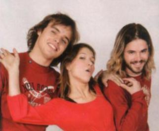 Benja, Cami and Feli