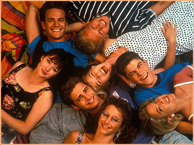 The 90s wallpaper titled Beverly Hills 90210
