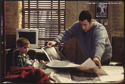 Adam Sandler پیپر وال entitled Big Daddy