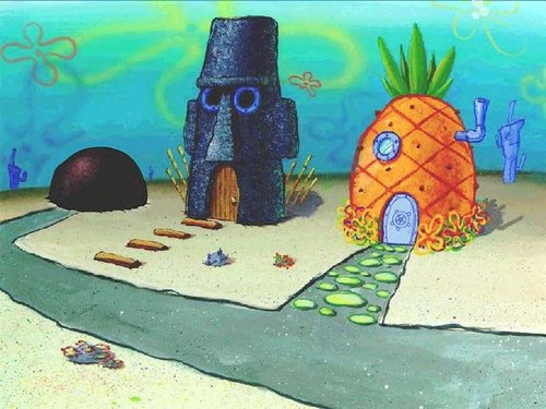 Spongebob Squarepants پیپر وال called Bikini Bottom