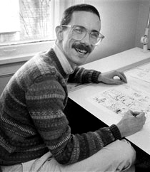 Bill Watterson - calvin-and-hobbes Photo