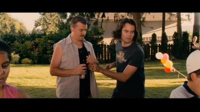 Bill Hader Обои entitled Bill in Hot Rod