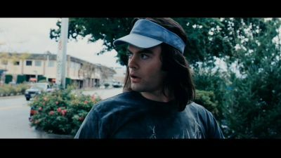 Bill Hader wolpeyper titled Bill in Hot Rod