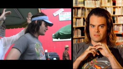 Bill Hader karatasi la kupamba ukuta entitled Bill in Hot Rod