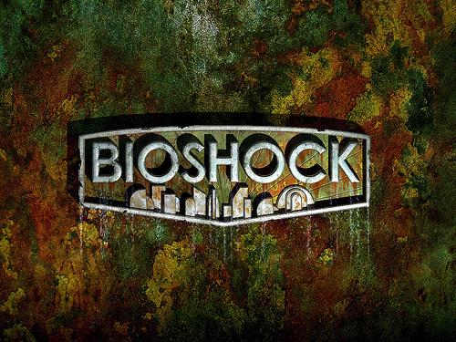 Bioshock background kertas dinding