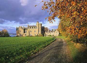 Birkhill kasteel in Scotland