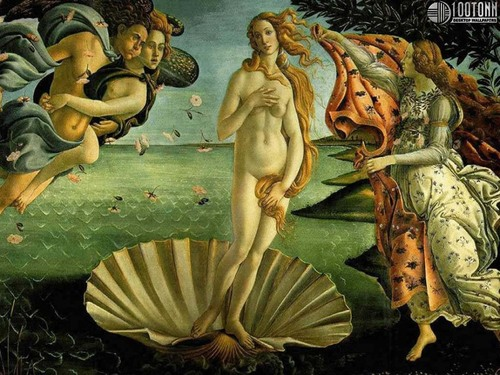 Birth of Venus kwa Boticelli