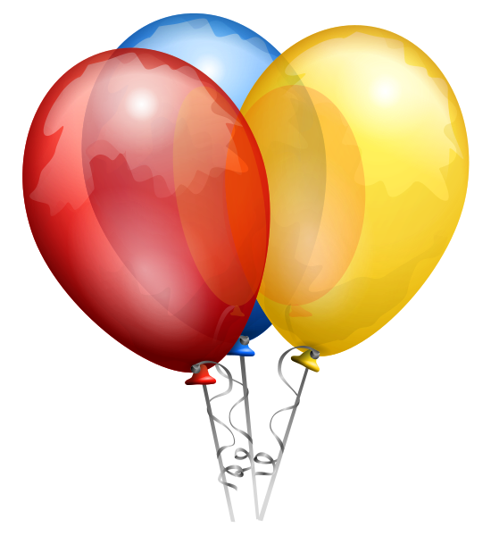 Birthday Balloons - Happy Birthday Fanpop Users 550x600