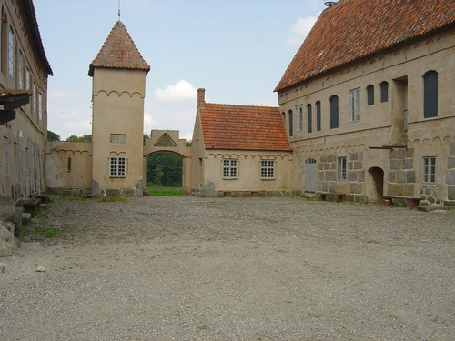 Bjersjoholm замок Remnants