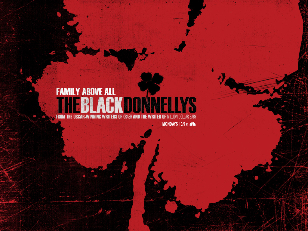 Black Donnellys karatasi la kupamba ukuta