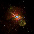 "Black Hole's ""Jet Power"" - science-news photo"