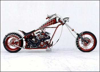 Orange County Choppers wallpaper titled Black widow bike