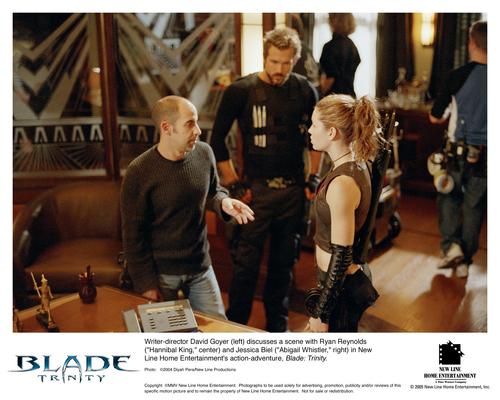 Jessica Biel karatasi la kupamba ukuta titled Blade: Trinity