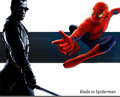 Blade vs. Spider-man - blade photo