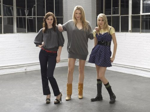 Blair, Serena and Jenny