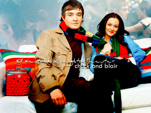 Blair & Chuck 壁紙 titled Blair/Chuck 壁紙