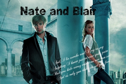 Blair & Nate 壁纸 entitled Blair/Nate
