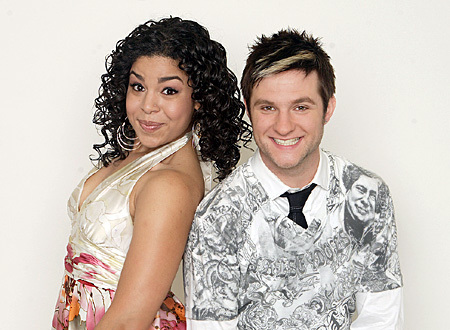 Blake Lewis and Jordin Sparks - american-idol Photo