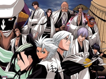 animé Bleach fond d'écran entitled Bleach Captains