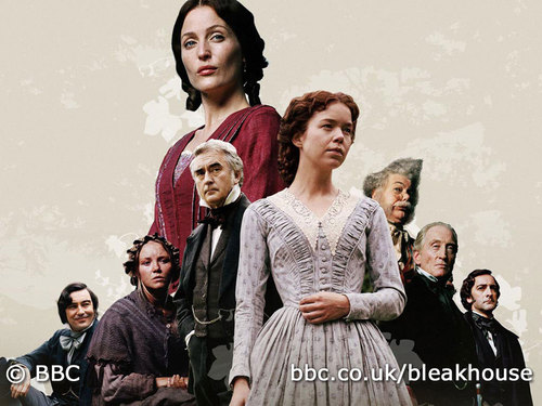 Book to Screen Adaptations wolpeyper titled Bleak House