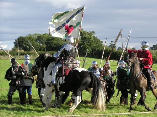 Renaissance Festivals 壁纸 titled Blore Heath Reenactment
