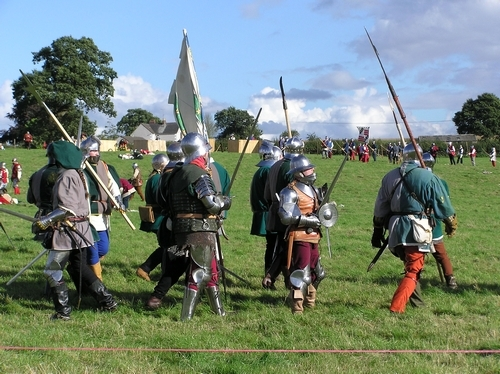 Blore Heath Reenactment