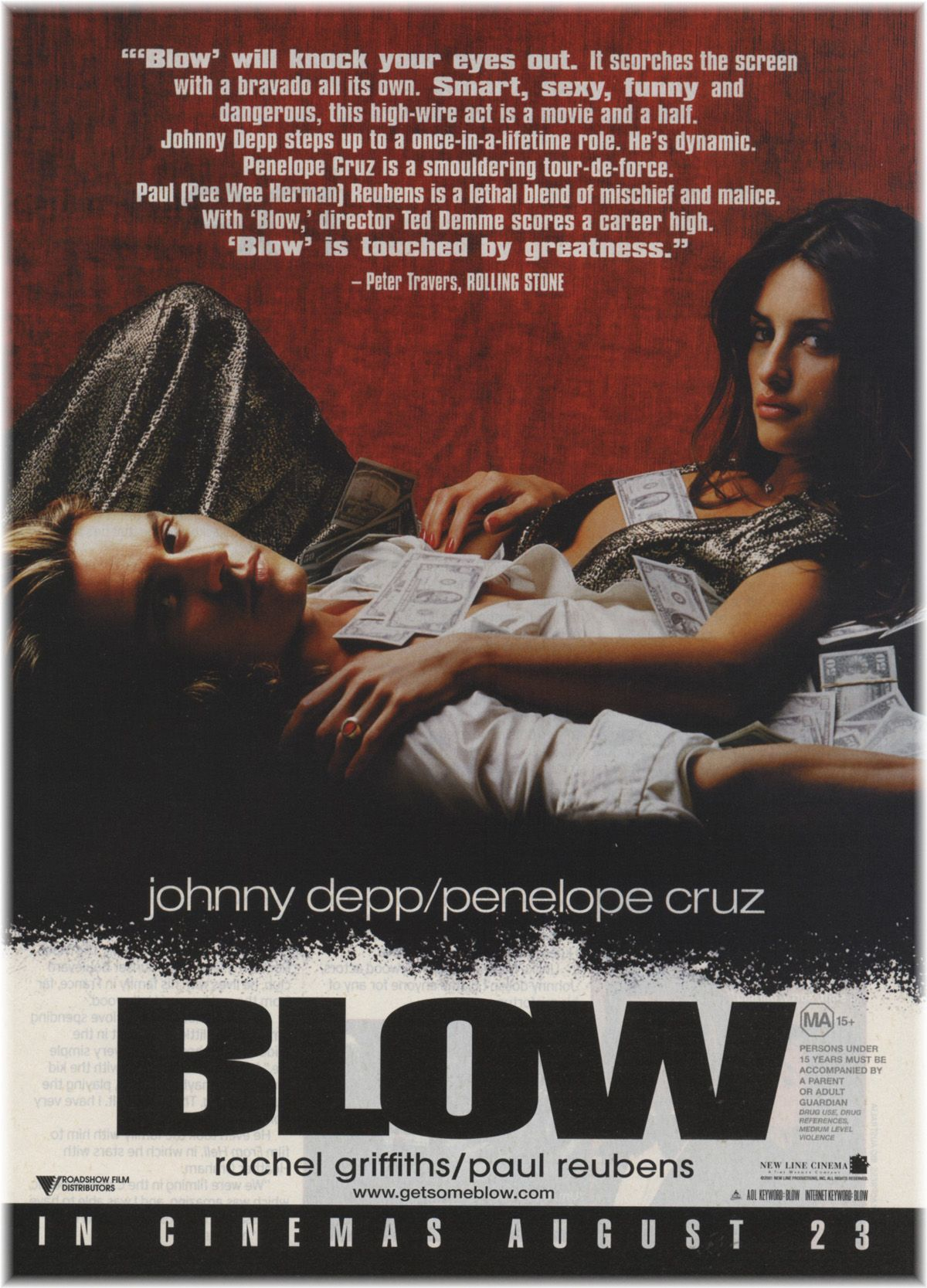 Blow - Johnny Depp Photo (180784) - Fanpop