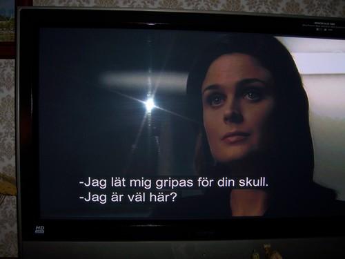 Bones on Swedish TV