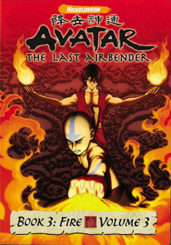 Avatar Book 3 Volume 3 DVD