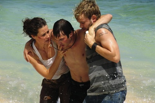 Boone, Kate and Charlie