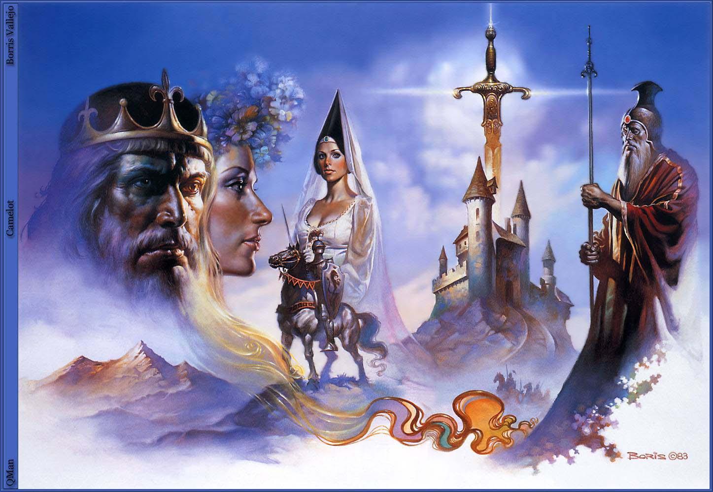 Boris Vallejo 39 S Camelot King Arthur Photo 360110 Fanpop