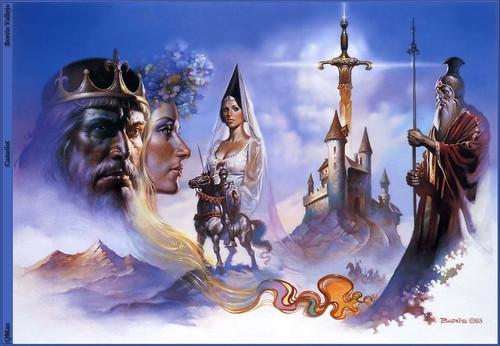 Boris Vallejo's Camelot