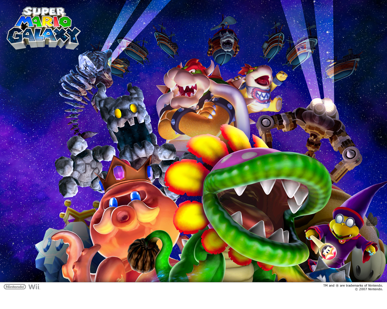 Boss Wallpaper - Super Mario Galaxy 1280x1024