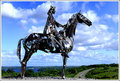 Boyle horseman - ireland photo