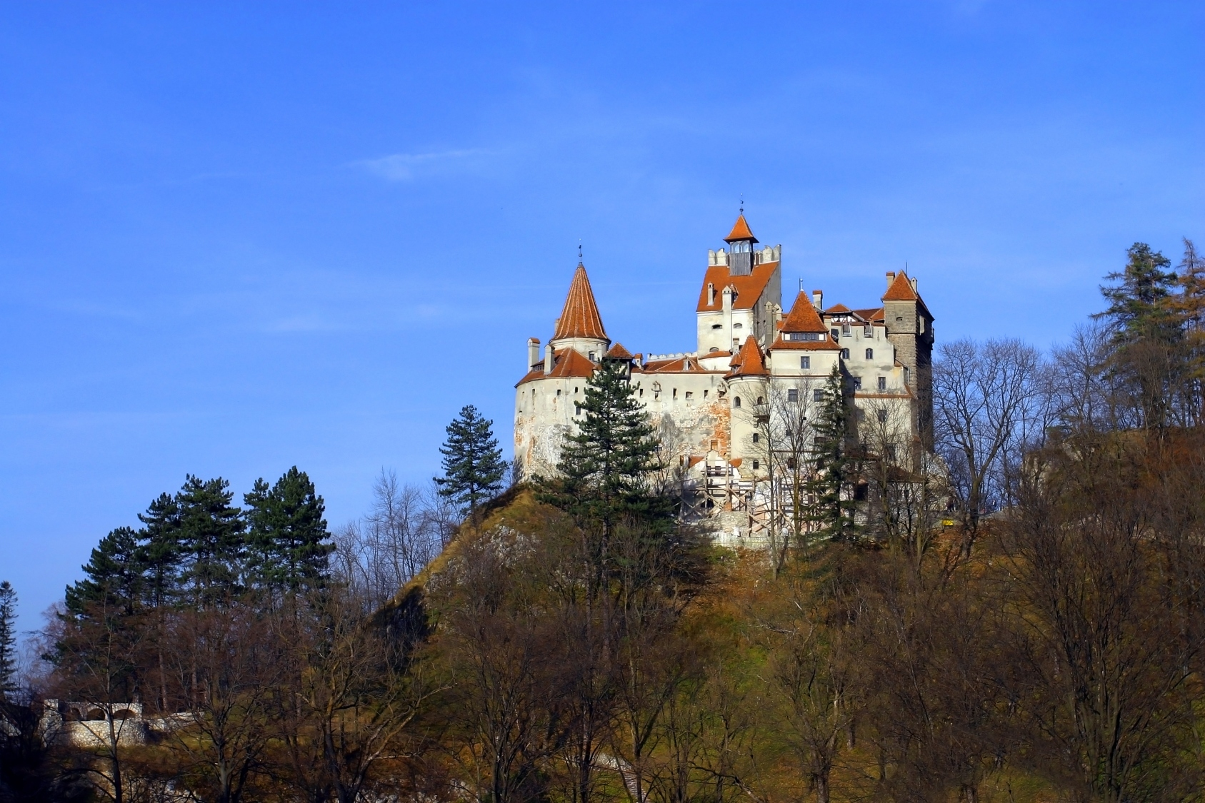 Bran Castle - Vlad the Impaler - Vampires Photo (345857 ...