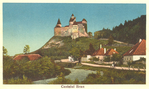 Bran lâu đài (Dracula castle)
