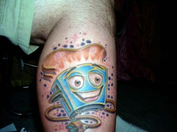 Brave little toaster tattoo