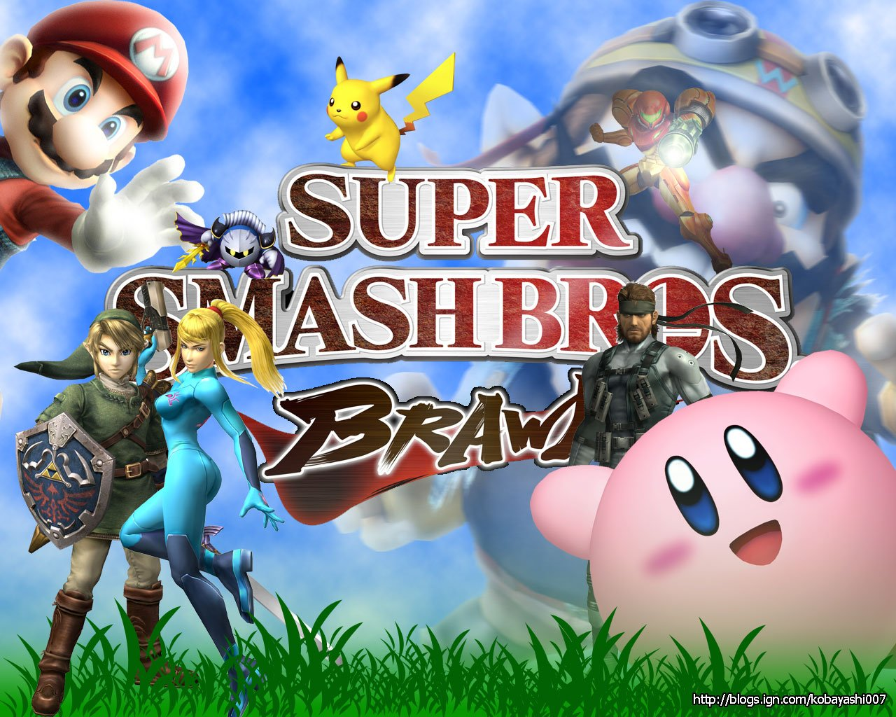 (bros-brawl Wallpaper : Smash ) super smash bros smashboards