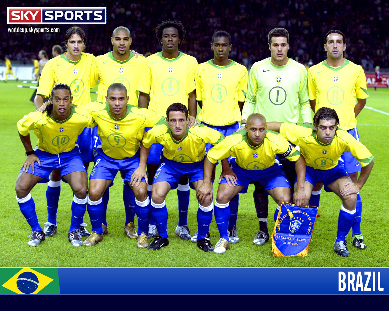 Brazil World Cup 2010 TEam