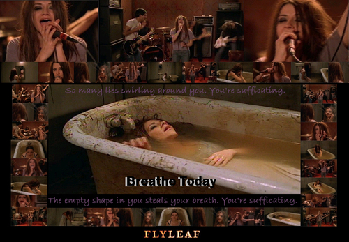 Flyleaf wallpaper called Breathe today