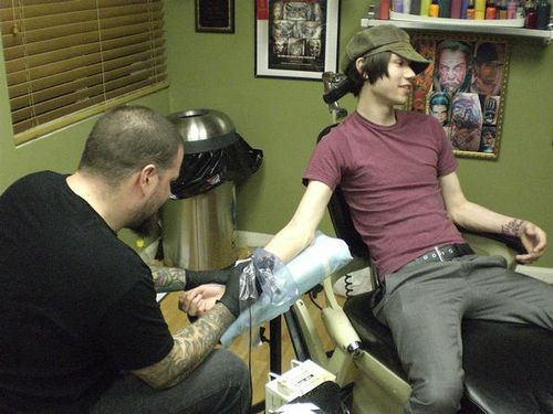 Brendon & Ryan tattoo