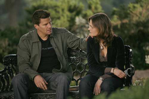 Booth and Bones wallpaper titled Brennan &  Booth
