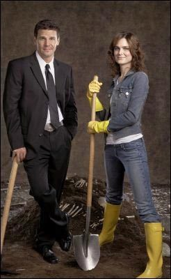 Brennan and Booth - bones Photo
