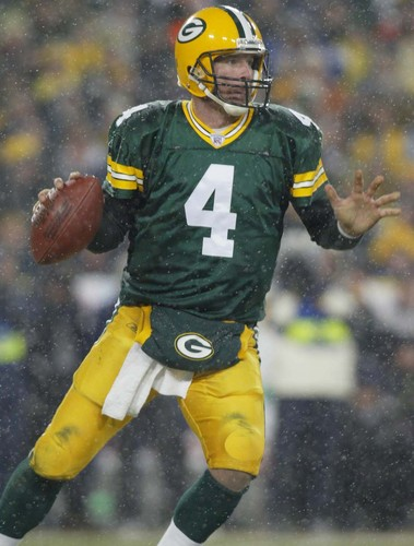 Green baía Packers wallpaper called Brett Favre