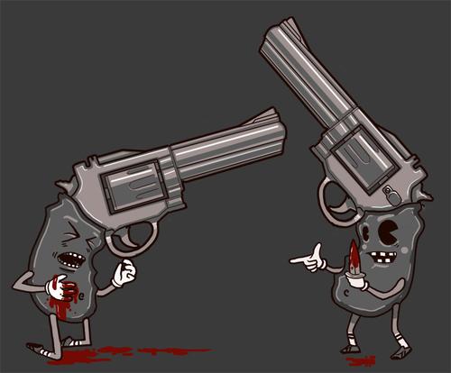 Bring A kisu to a Gun Fight