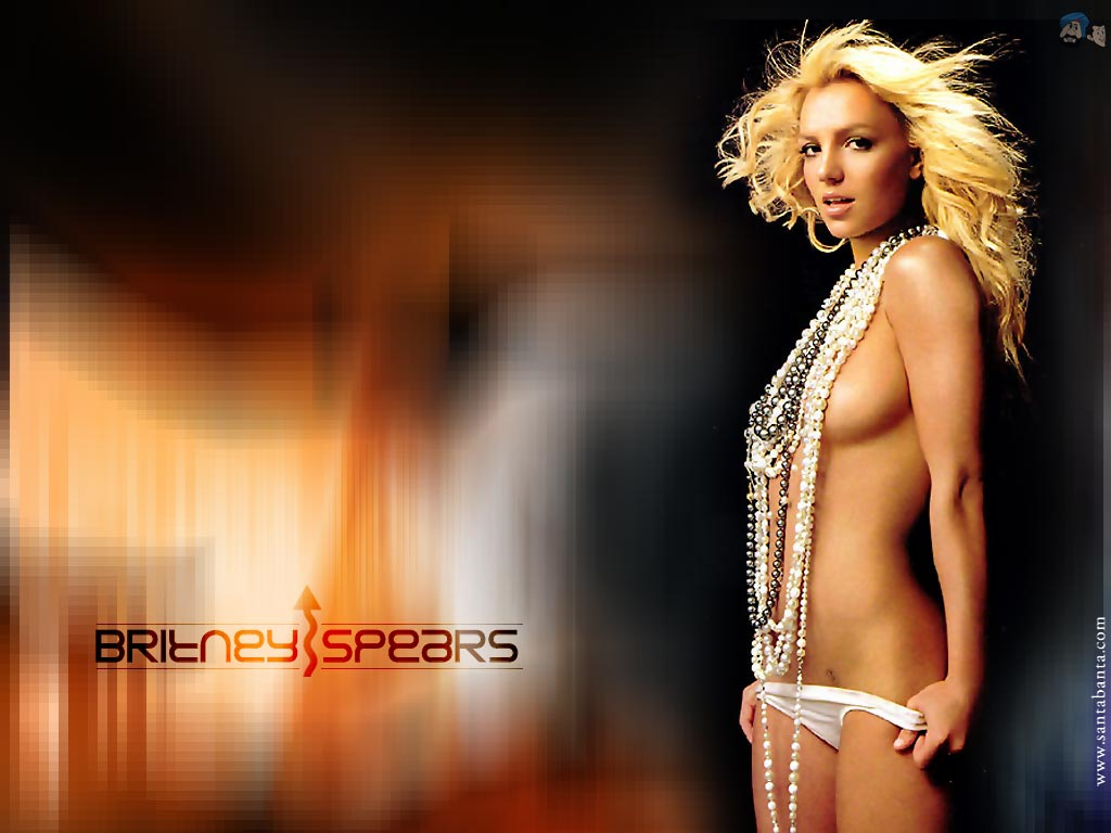 Britney spears naked wallpapers